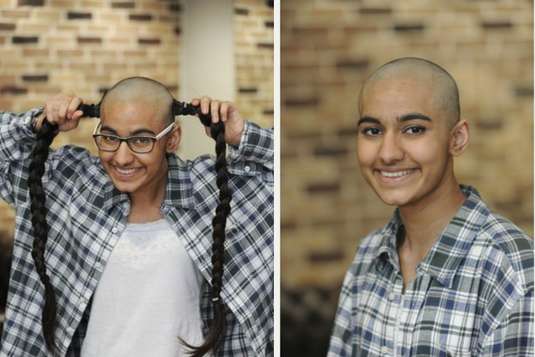 cambridge student head shave