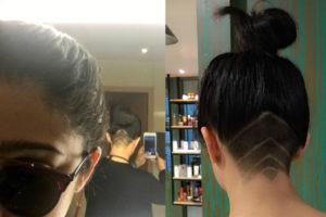 Charmme Kaur gets Undercut Makeover