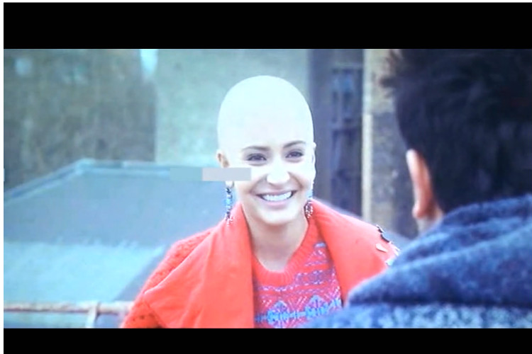 Anuskha Sharma Headshave Bald