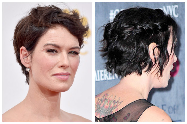 Lena Headey Short Hairstyle