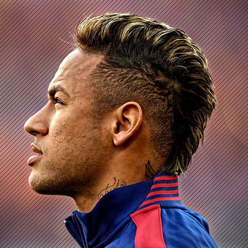 Neymar Mohawk highlights