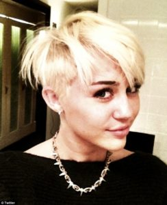 Miley Fuck boy Haircut