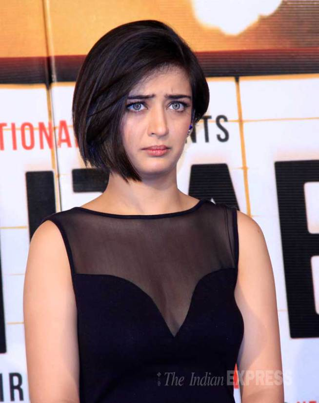 Akshara Hassan Short Haircut